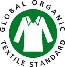 Logo des Global Organic Textile Standard kurz GOTS