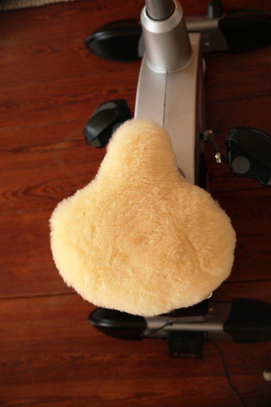 Fahrradsattelbezug relugan-gegerbt extrabreit