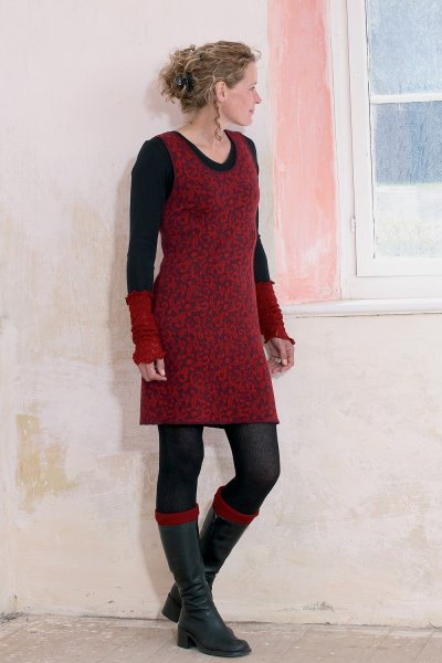 Strickkleid Ranke