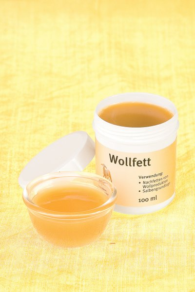 Wollfett